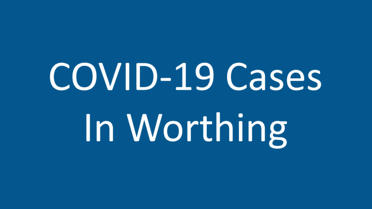 COVID-19 Cases in Worthing