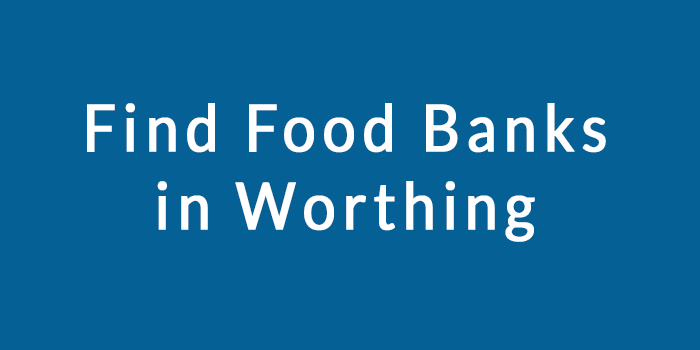 Image describes subject of page. Find food banks in Worthing
