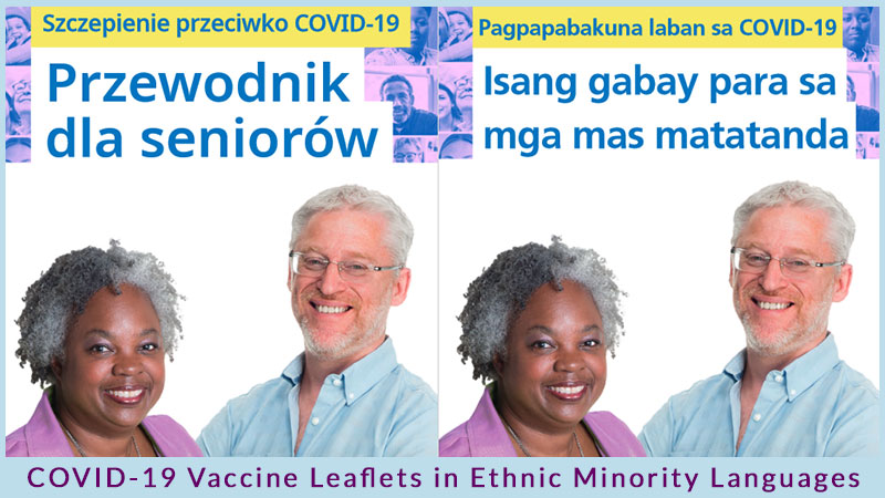 COVID-19 Vaccine Information in Ethnic Minority Languages