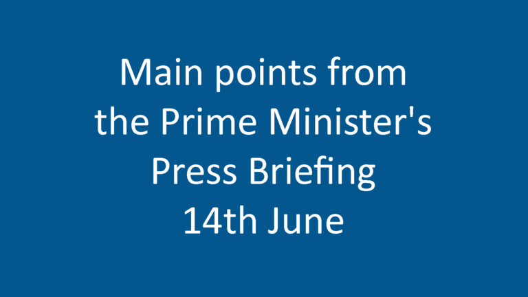Prime Minister's Press Briefing
